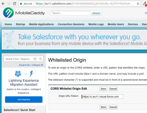 salesforce-cors-setting